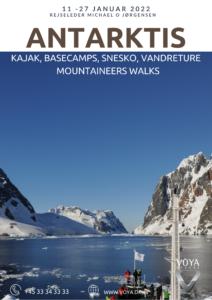 Rundrejse med dansk rejseleder til Antarktis