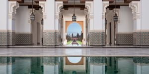 Oberoi Marrakech.  Photo by Alan Keohane www.still-images.net for Oberoi