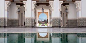 Oberoi Marrakech.  Photo by Alan Keohane www.still-images.net for Oberoi