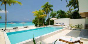 Amilla Fushi - 4 Bedroom Residence - Pool 1