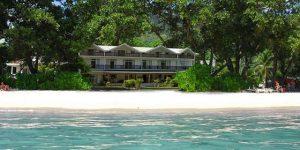Augerine Hotel fra havet