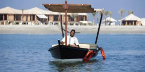 Banyan-Tree-Ras-Al-Khaimah-Beach-Arrival-By-Boat