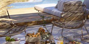 Bill & Coo Villa breakfast view