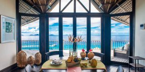 Fregate Island Voya Travel Villa Dining