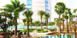 -Jumeirah Al Naseem - Summersalt Beach Club - Burj Al Arab View