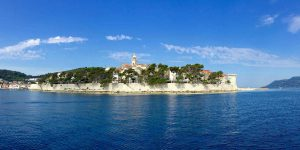 Korcula_from_sea