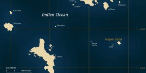 Map Fregate Island Seychellene Voya Travel