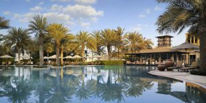 One-and-Only-Royal-Mirage-The-Palace-Arabian-Court-Pool-and-Eauzone-restaurant