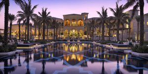 One-and-Only-Royal-Mirage-The-Palace-pool-night