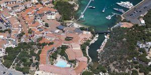 Sardinien-Cervo-Aerial-view
