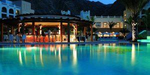 Shangri-Las-Barr-Al-Jissah-Resort-Pool-night