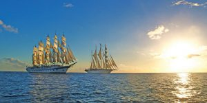 Star-Clippers-sailing-sunset
