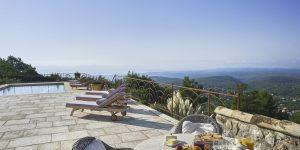 View of Côte d'Azur