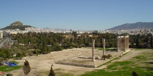 Zeus Temple Lycabettus